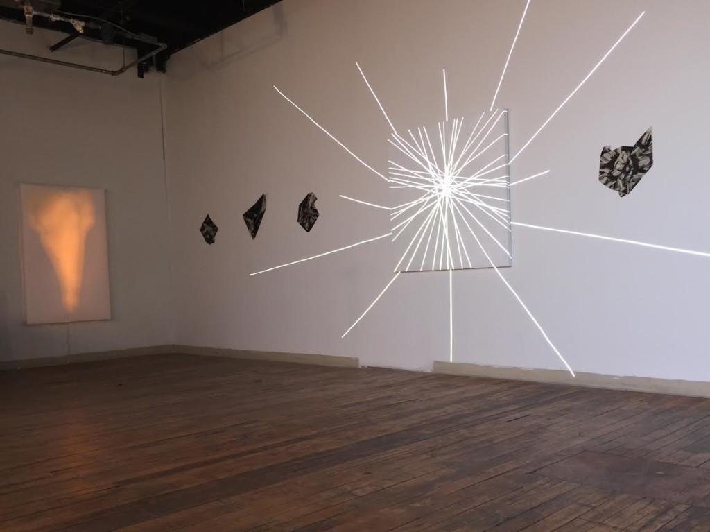 Installation View, Spudnik Press Annex Gallery